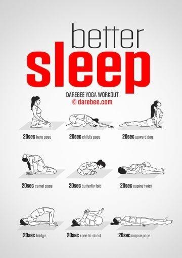 Yoga Poses to help you sleep better