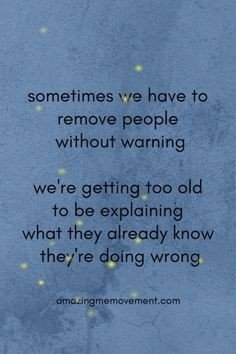 Sometimes we need to remove people without warning...