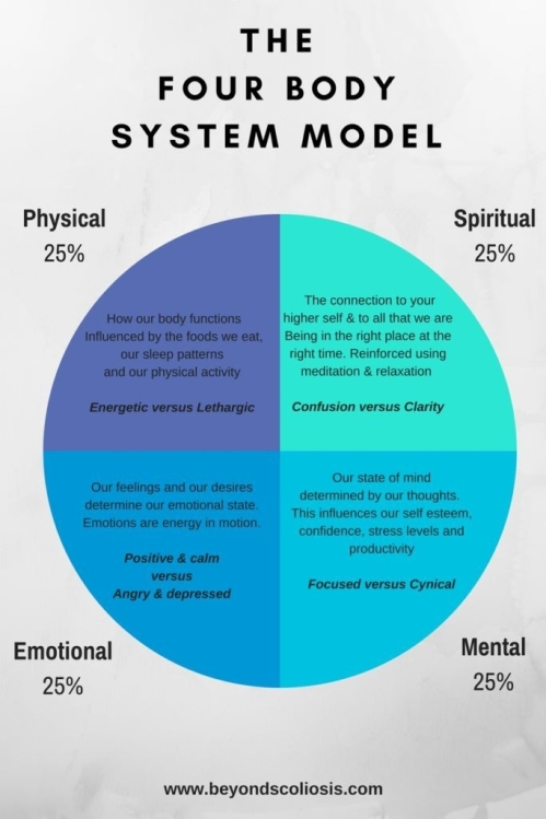Health and lifestyle: the four body system model