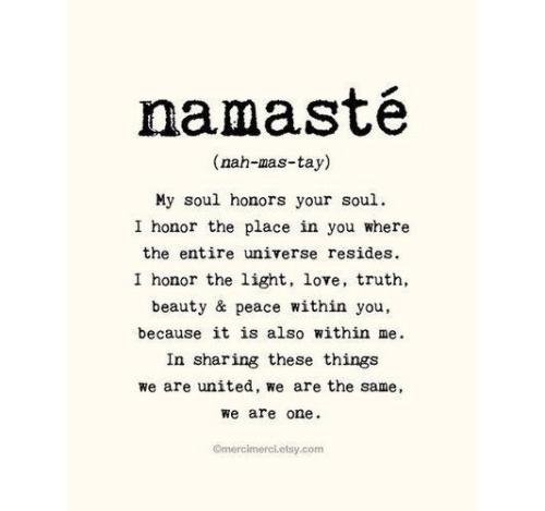 Yoga: Namasté