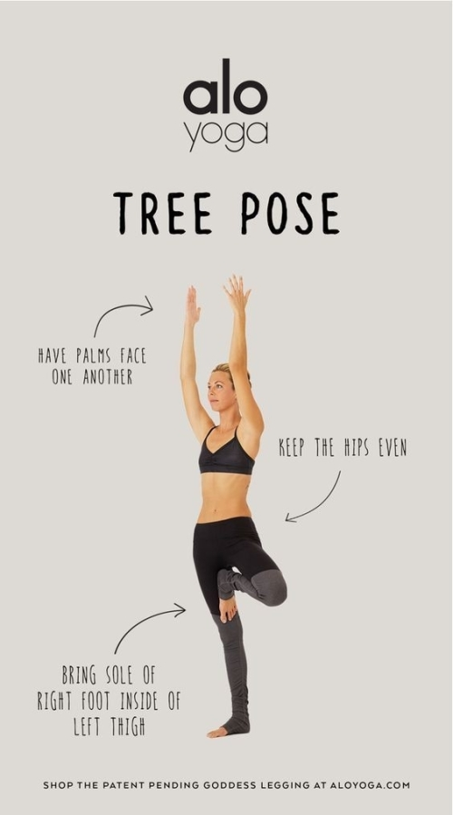 YOGA: HOW TO DO THE TREE POSE
