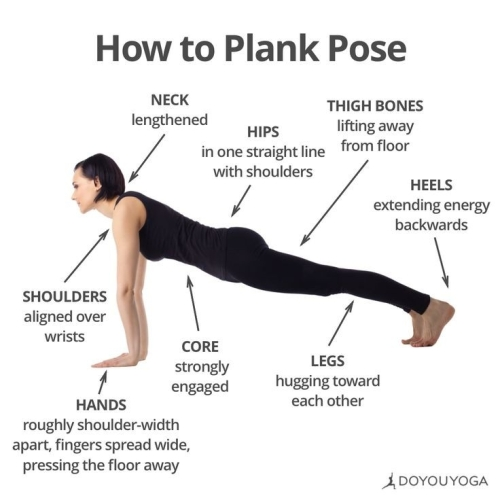 YOGA: HOW TO PLANK POSE