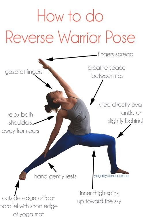 YOGA: HOW TO DO REVERSE WARRIOR POSE
