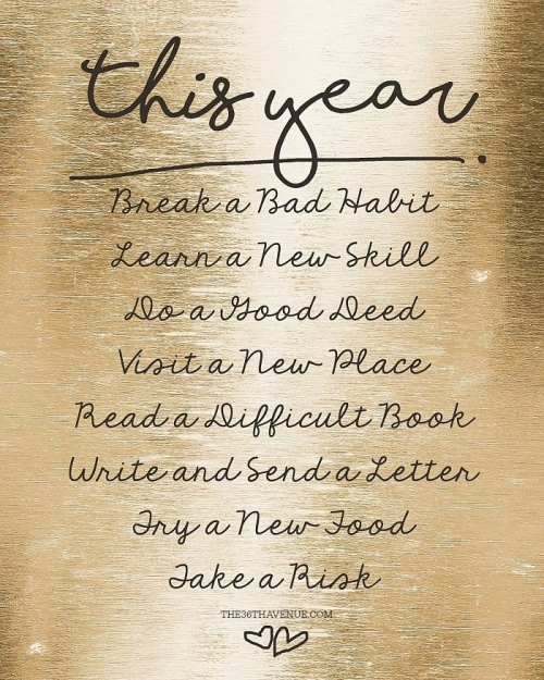 Quote: This Year...