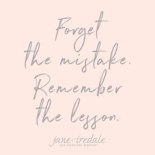 Quote: Forget the mistake...