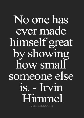 Quote: Irvin Himmel