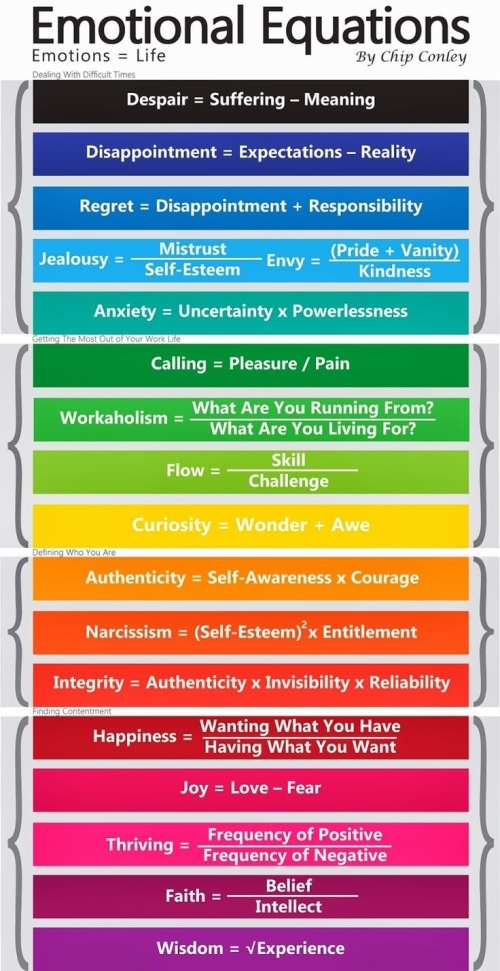 Lifestyle and Health: Emotional Equations