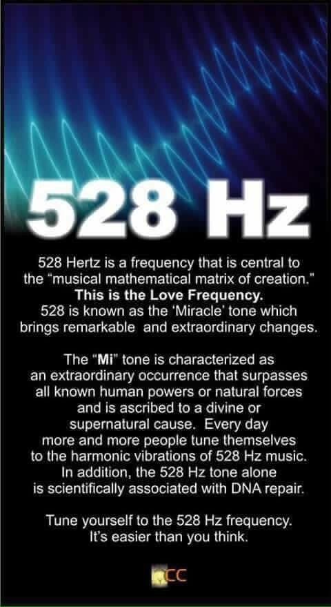 Yoga: the love frequency- 528Hz
