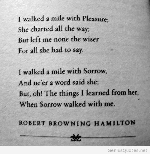 Poem: ROBERT Browning Hamilton