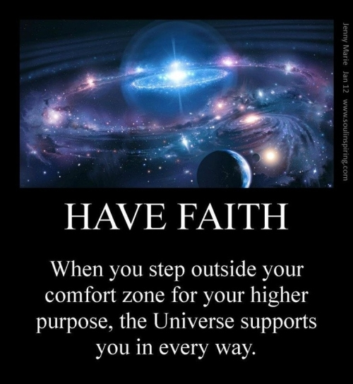 Quote: Have Faith...