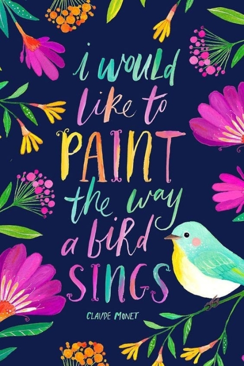 Quote: I would like to paint...