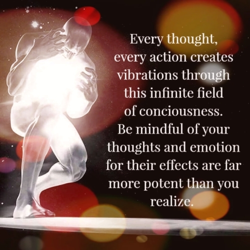 Quote: Every thought, every action...