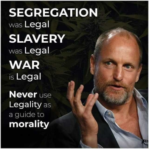 Quote: Segregation was legal...