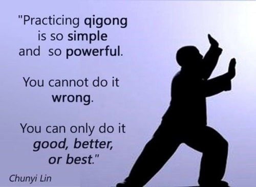 Quote: practicing QIGONG IS SO SIMPLE...