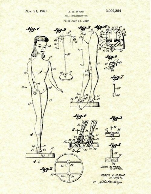 Patent: The Barbie Doll