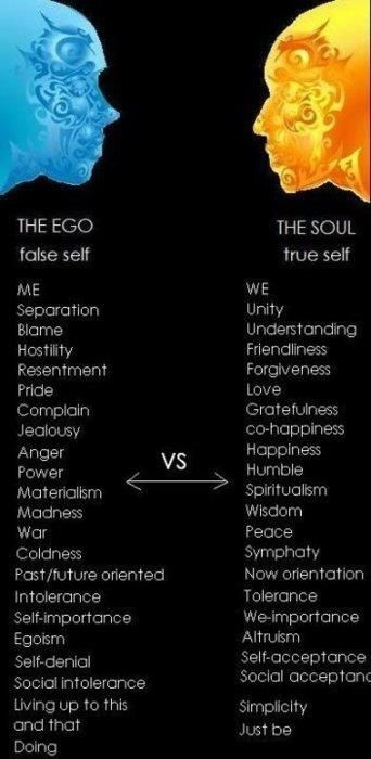 Quote: Ego vs. Soul