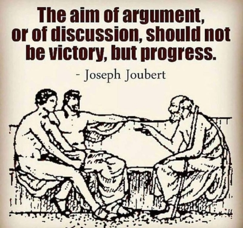 Quote: The Aim of Argument...