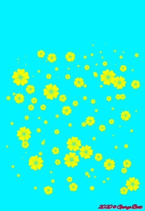 Mustard field in spring (013020)