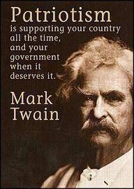 Patriotism (Mark Twain)
