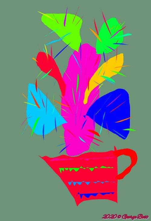 My rainbow cactus